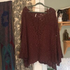 Chunky free people knit